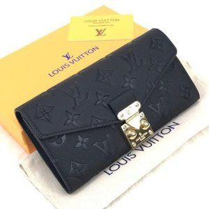 Louis Vuitton Pallas Wallet %100 Original Leather